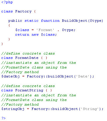 Factory Method Pattern Ex 1