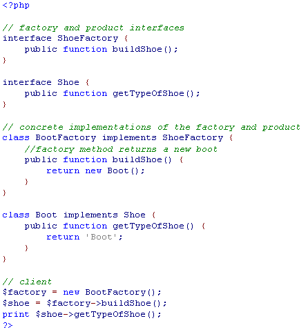 Factory Method Pattern ex 2